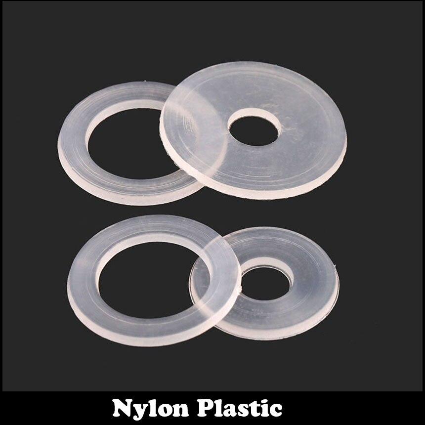 120 pcs M3 M3   13 0.9 M3X13X0.9 Nylon Clair En Plastique Joint Plat  Transparent Isolant Rondelle Plate fdfd2086acc