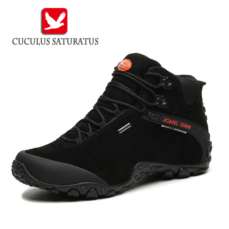 цены  XIANG GUAN Free Shipping Hiking Shoes Outdoor Sports Boots Trekking Shoes Waterproof Mountain Climbing Shoes For MenWomen 82287