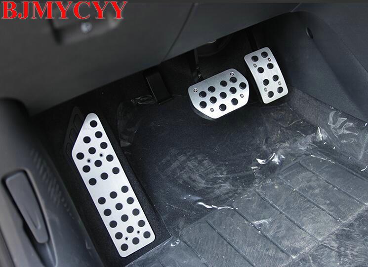 BJMYCYY Peugeot 508 Citroen C5 автокөлік аксессуарлары үшін автоматты газды үдеткіш педалі, аяқ киім және тежегіш педаль