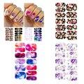 3 folha de marca d ' água prego adesivos de transferência de água de impressão de unhas decalque flor de DIY Nail Art decoração A2