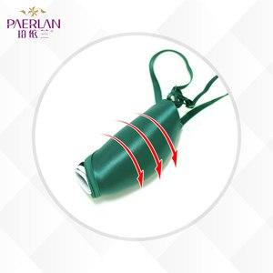 Image 3 - PAERLAN Seamless Push Up Front Closure Wire Free Stripe Beauty Back Bra  Small Breast Gathers Sexy Green Underwear Women