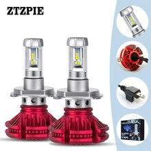 X3 ZES-2 4300 k LED automotivo H1 H7 H3 ha condotto la Lampada H13 H4 H8 9007 Auto Auto Lampadine Del Faro 8000 K 50 W IP67 12000LM/Lampadina 6500 K 2 PCS