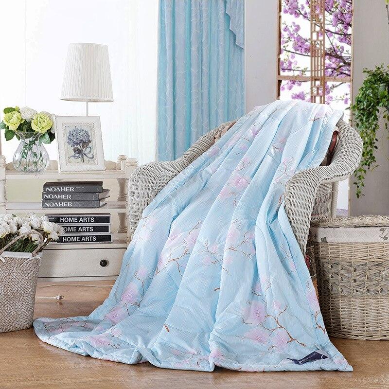 All Season Flower Down Alternative Quilted Comforter