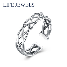 Authentic100% 925 Sterling Silver Rings Charm l Women Luxury Valentines Day Gift Jewelry 18176