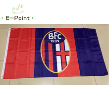 Italy Bologna FC 1909 3ft*5ft (90*150cm) Size Christmas Decorations for Home Flag Banner Type A Gifts