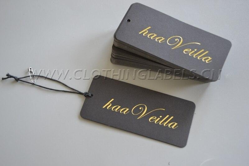 Popular Custom Hang Tags for Clothing-Buy Cheap Custom Hang Tags ...