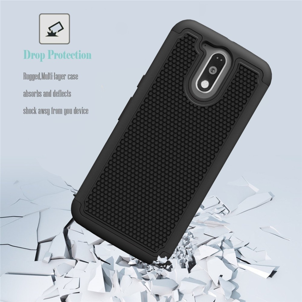 For ZTE Grand X Max 2 /Max Duo 4G Zmax Pro Kirk Z988 Imperial Max Rugged Heavy Duty Shockproof Armor Impact Silicone Case Cover