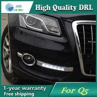 high quality daytime Running Light Fog light High Quality LED DRL case for Audi Q5 2010 2013 fog lamp 12V 6000K 2pcs/set