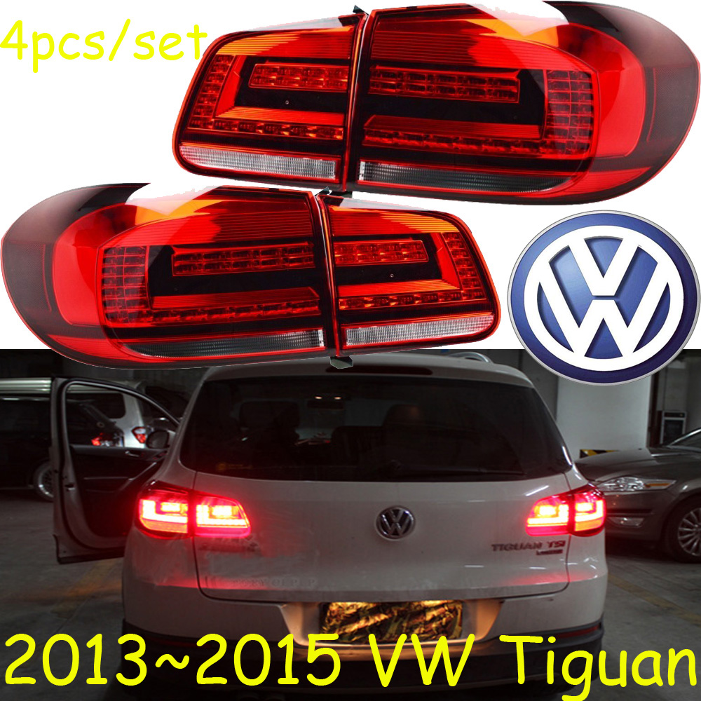 car-styling,Tiguan Taillight,2013~2015,led,Free ship!4pcs,Tiguan fog light;car-covers,Tiguan tail lamp; Touareg,Touran car styling golf6 taillight 2011 2013 led free ship 4pcs golf6 fog light car covers golf7 tail lamp touareg gol golf 6