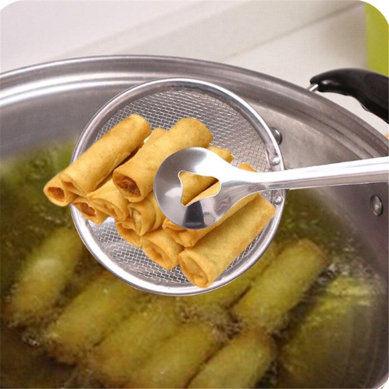 Voedsel Clip Snack Friteuse Zeef Bbq Buffet Serveren Tang Frankrijk Gebakken Tong Frituren Mesh Vergiet Filter Olie Afdruiprek Yl885862 Om Digest Greasy Food Te Helpen