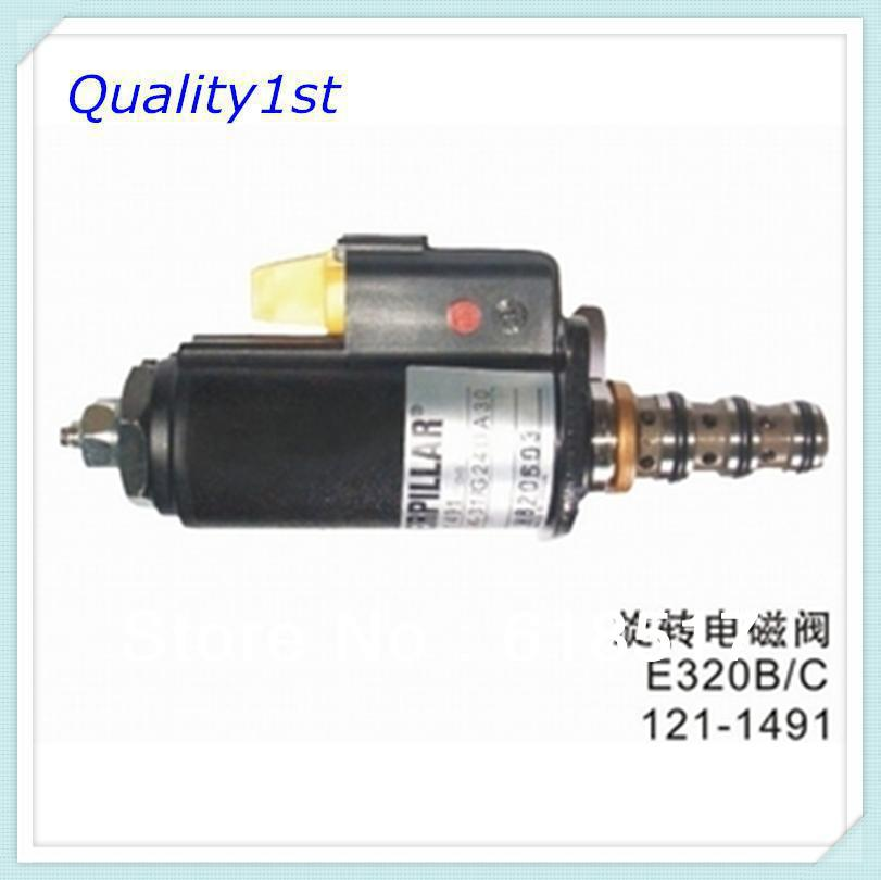 OEM Apply Caterpilar excavator 320B/C solenoid valve 121-1491 - Quality1st Machinery Parts Co.,Ltd store