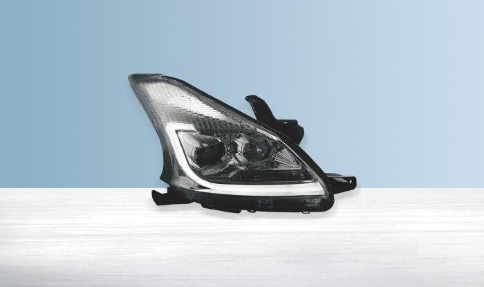 2PCS for Toyota AVANZA CAR Lights Headlights Assembly 2012-2015 hid bi-xenon lens LED DRL light amber turn light