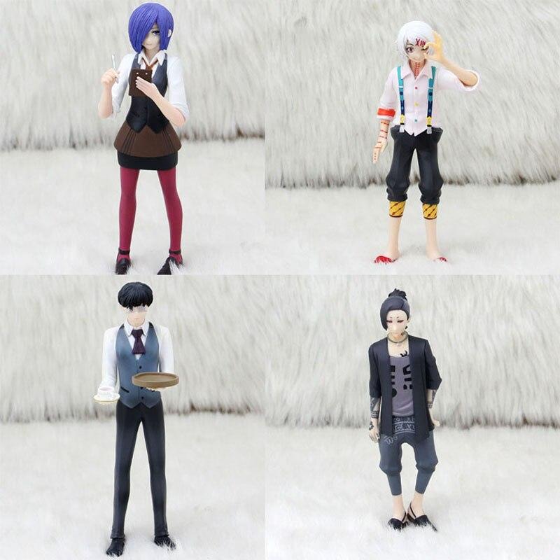 Anime Tokyo Ghoul Figure 15cm Kaneki Ken Touka Kirishima Uta Juzo Suzuya Rei PVC Action Figure Collectible Model Toy With Box цена 2016