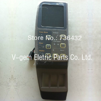 Free shipping! HD excavator monitor R215-7 450-7 21N8-30013 old type single cable /HND Excavator display screen