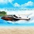 НОВЫЙ RC Лодка UDI Мини RC Катере Темп Мощность Venom 2.4 Г Пульт Дистанционного Управления Лодка с Автоматическое Исправление Отклонений Направлении функция