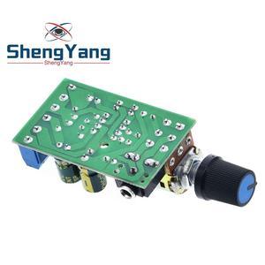 Image 2 - ShengYang Mini DC 3.7 ~ 12V 5V TDA2822M 2.0 CH Stereo Âm Thanh Bộ Khuếch Đại Công Suất Tàu 3.5Mm AUX