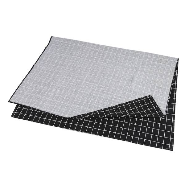 Image 4 - Hot Black Plaid Table Cloth Home Coffee Table Decorative Brief Tablecloth For Home Restaurant Shop Decoration-in Tablecloths from Home & Garden