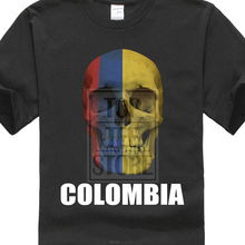 Colombia Flag Footballer Fan Jersey New MenS Fashion Short-Sleeve T Shirt Mens