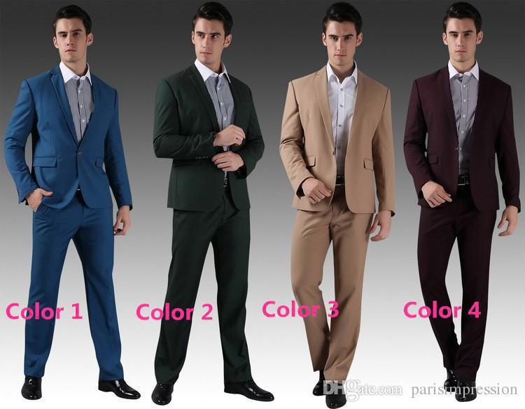 New Arrival Best Ing 10 Colors Groom Tuxedos Man Suit Dinner Wedding Groomsman Men Suits Bridegroom Formal Custom In From S Clothing