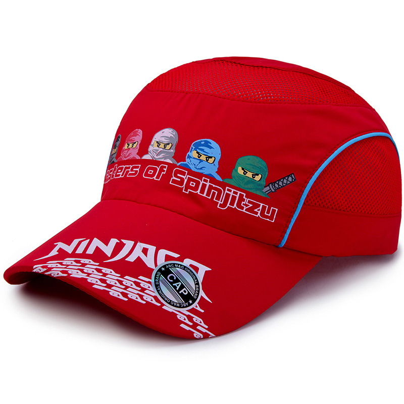Kleidung & Accessoires Five Ninjas Cartoon Printing Fast Dry Baseball Caps For Children Outdoor Boys Girls Sports Net Cap Breathable Sunhat Run Hat Special Buy