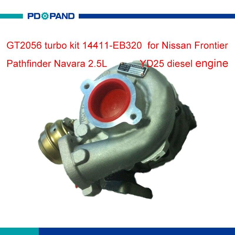 Diesel engine turbo kit GT2056V turbocharger compressor