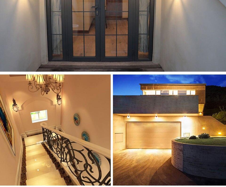 LED PIR Sensor Bulb E27 15W AC 220V 110V Dusk To Dawn Light Bulb Day Night Light Motion Sensor Lamp For Home Garage Lighting (15)