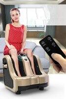Электрический давление воздуха массажное устройство для ног массажер для ног шиацу ноги теленок acupoint разминание Отопление здоровье и гиги