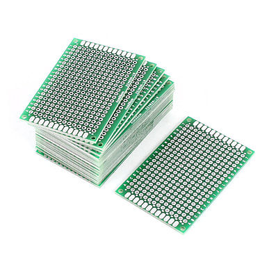 20PCS 4cm x 6cm FR-4 Dual Sided Prototype Tinned Universal PCB Board DIY deli a4 folder 8 grids portable multi layer paper bag information package expanding wallet document bag school office supplies