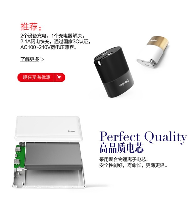 Besiter Beand 20000mAh Dual USB Power Bank (10)