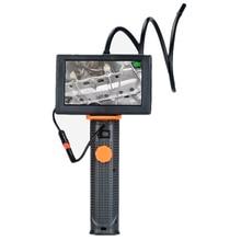 4.3″ Monitor Video Inspection Borescope Waterproof Camera Endoscope Adjustable Brightness Maintenance 8.5mm Car Repair Tool