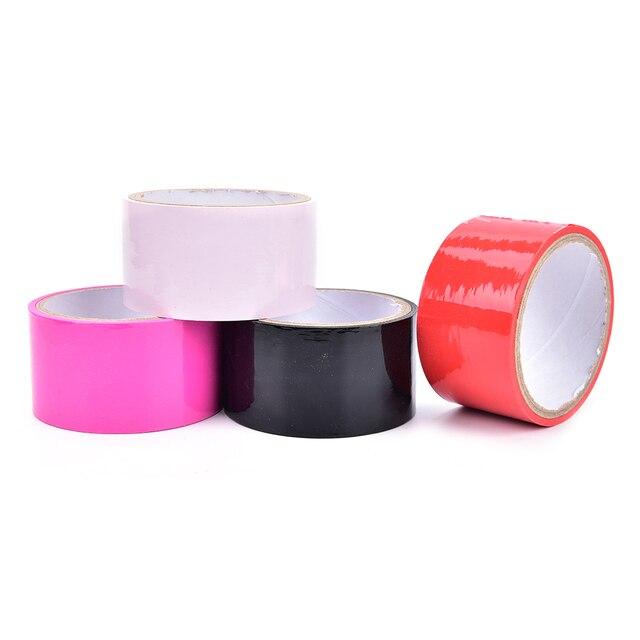 Fetish tape plasticwrap images 858