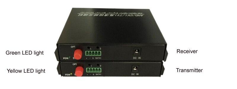 Yüksek Kaliteli HD CVI 8 Kanal Video Fiber Optik - İletişim Ekipmanları - Fotoğraf 4