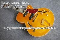 Yeni Varış L5 Elektrik Caz Gitar Aynı Resimleri Gibi Hollow Maple Gitar Vücut Ücretsiz Kargo