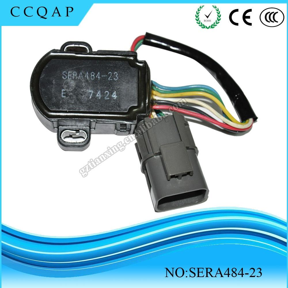 High quality TPS throttle body position sensor for Infiniti SERA484 23