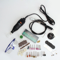 New 220V Mini Dremel Style Electric Drill Rotary Tool Portable DIE Grinder Power Tool Kit Variable