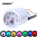 """Universal Car SUV 2"""" 52mm Led 40 120 Water Temp Temperature Celsius Pointer Gauge Meter Colorful Car Styling Auto Replacement"""