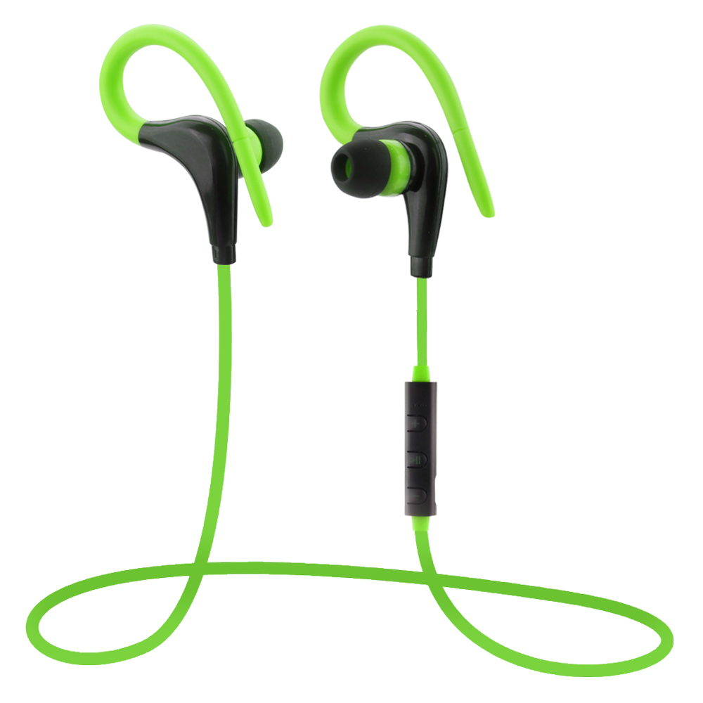 2016 New Fashion Wireless Sports Earphone With Mic Remote Cos