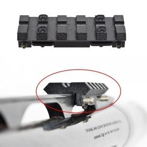 Image 1 - IZH 27 / MP 153 / MP 155 / MP 233 / TOZ 120 / MTs21 12 / TOZ 84 ventilated rib rail Weaver Picatinny mount Black