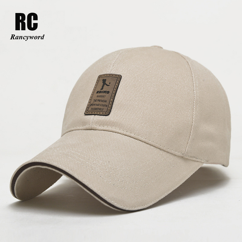 Brand Baseball Cap Men Cotton Casual Sports Golf Hats For Men Golf Snapback Casquette Bone Gorras Sale RC1011 new high quality warm winter baseball cap men brand snapback black solid bone baseball mens winter hats ear flaps free sipping