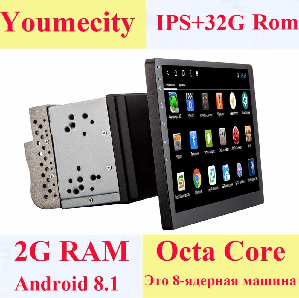 Youmecity 10,1-palčni zaslon Android 8,1 2 din Car GPS GPS Video - Avtomobilska elektronika