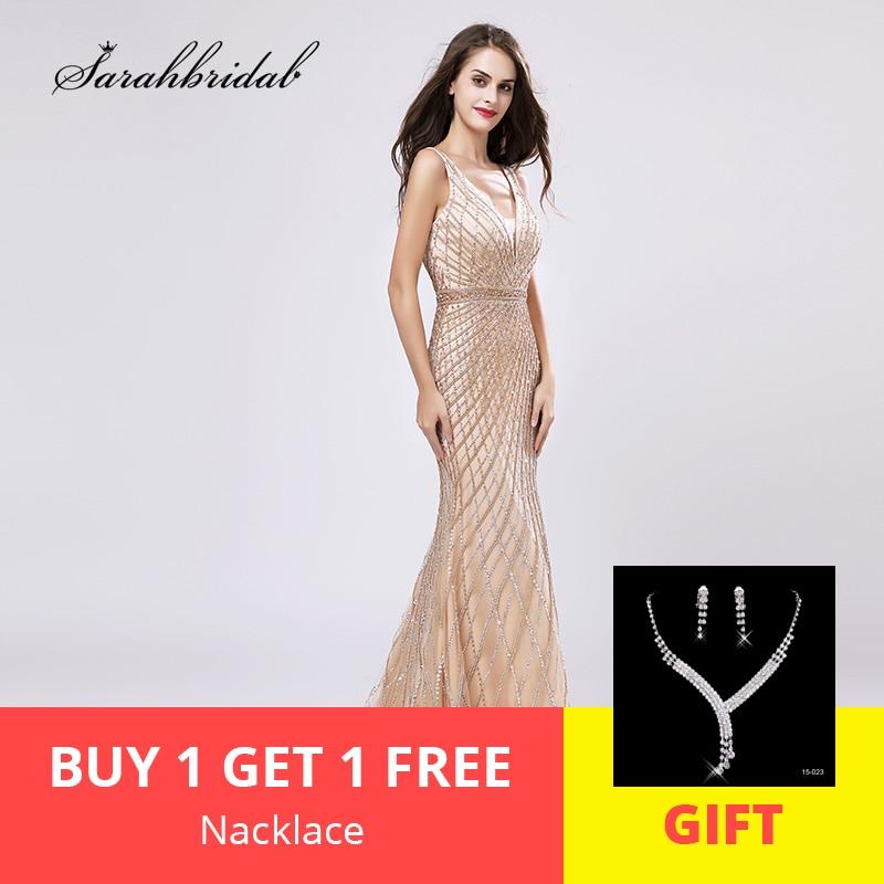 Robe De Soiree Latest Luxury In Stock Burgundy Formal   Evening     Dresses   Mermaid Zipper Floor Length Tank Crystal Beading LSX495