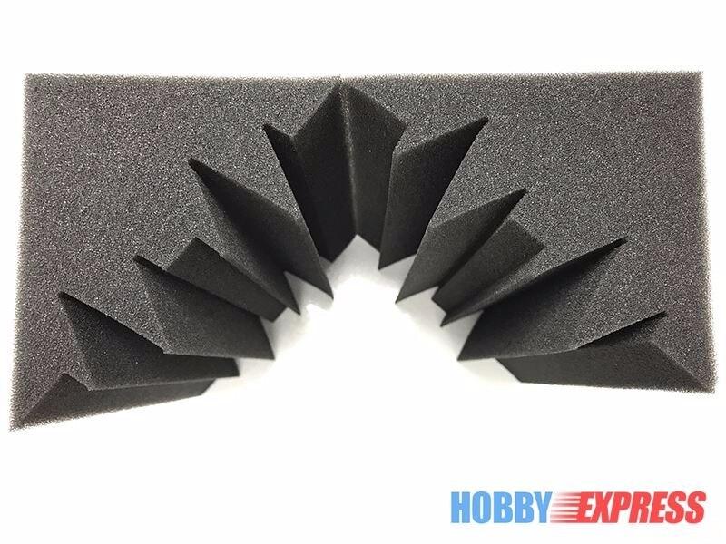 Arrowzoom 36 piezas trampas de graves espuma acústica de absorción de sonido tratamiento 12x12x24 cm (4,7x4,7x9,4 pulgadas) KK1133-in Adhesivos para pared from Hogar y Mascotas    3