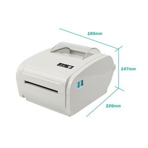 Image 4 - High quality Thermal Label Printer Barcode printer 110mm Logistic USB/Bluetooth Auto Peeling Portable Printer RD 9210