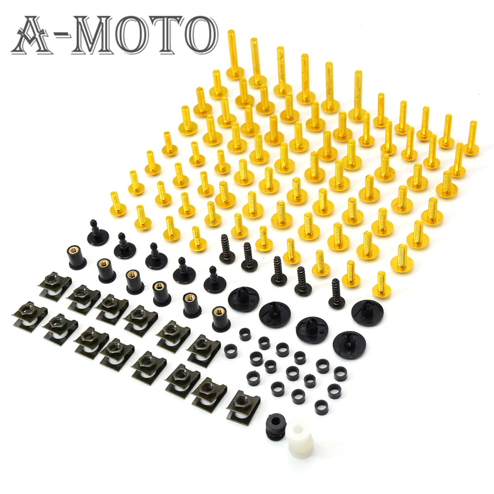 Motorcycle fairing screw bolt windscreen screw FOR KAWASAKI NINJA250 EX250 NINJA300 NINJA400 NINJA650 ZX 6R ZX