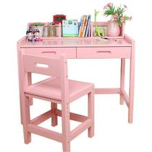 Estudar Furniture Cuadros Infantiles Tablo Escritorio Estudo Tavolino Bambini Infantil Wooden Enfant Mesa Desk Study Kids Table(China)