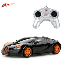 New Brand RC Car 1:24 for Bugatti Veyro Car Model High Speed Racing Shift Sport Car Remote Control cars electronic toys&Hobbies