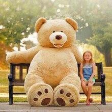 """América Enorme oso grande 260 cm/102 """"muñeco de peluche del oso cubierta suave felpa muñeca de juguete almohada cubierta (sin material) los niños del regalo del bebé"""