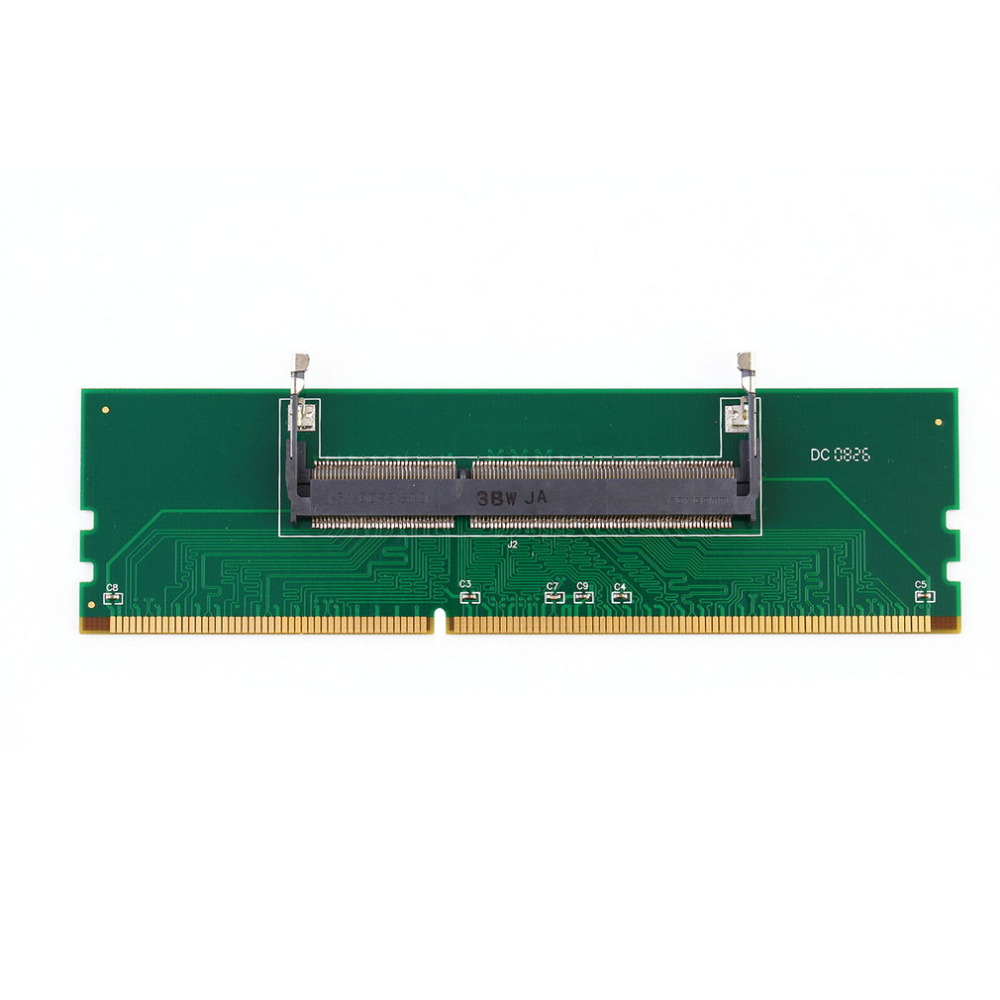 Centechia DDR3 Laptop SO-DIMM to Desktop DIMM Memory RAM Connector Adapter 10033854 252fslf[dimm connectors so dimm] mr li