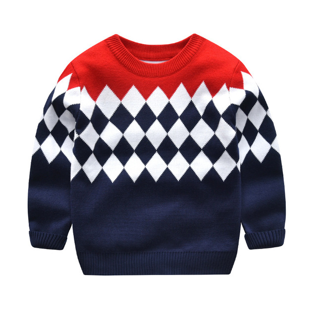 9bfedfd2d0dc 2019 new winter hedging thick long sleeved sweater children sweater ...