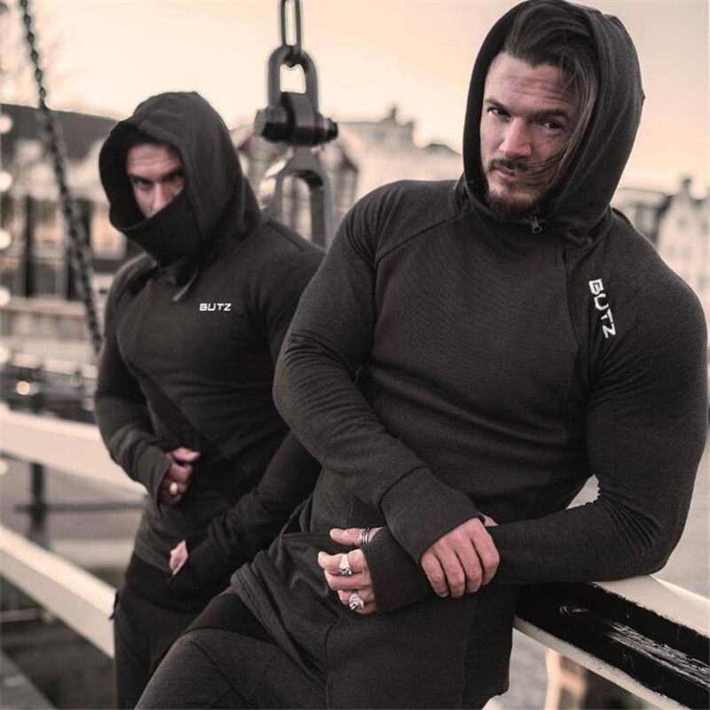 2019 New Pacthwork Sportswear Males Gyms Bodybuilding Sweatshirt Hip-Hop Male Hooded Hoodies Pullover Hoody Clothes Hoodies & Sweatshirts, Low cost Hoodies & Sweatshirts, 2019 New Pacthwork Sportswear Males Gyms...